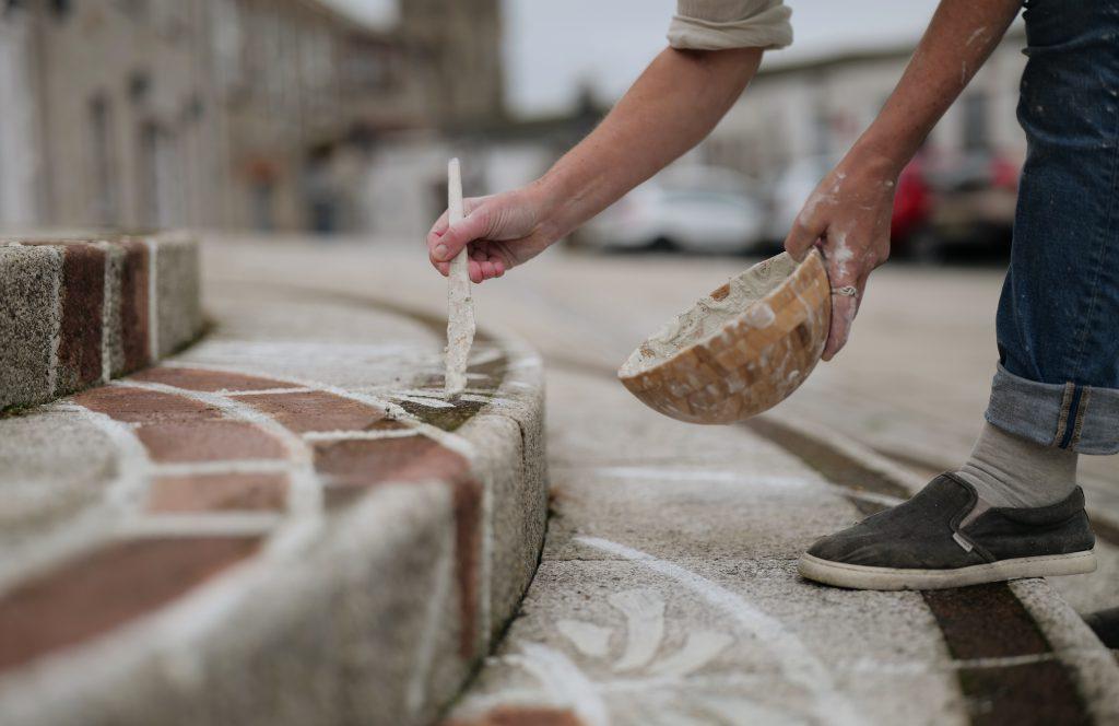 Clay street art